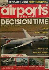 Airports of the World Jeddah's New Terminal Global  May/Jun 2015 FREE SHIPPING