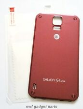 Oem Battery Door for Samsung Galaxy S5 Active G870A +S/P (At&T-Red) Us~Seller !