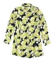Atmosphere Blue Floral Womens Blouse Size 6 (Regular)