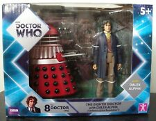 Doctor Who 8th Doctor & Alpha Dalek T 'R' Us Exclusive Twin Pack - Brand New UK@