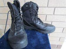 Men's Magnum 13 D Black Zip-Up & Lace-Up Work Boots
