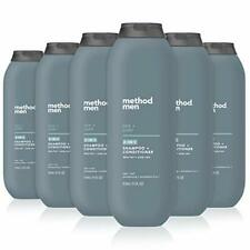 New listing Method Men 2-in-1 Shampoo + Conditioner Sea + Surf Pack Of 6 Sea & Surf 6 Count