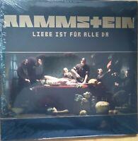 Rammstein - Liebe ist für alle da Vinyl 2 LP First Press 2009 + Flyer NEU