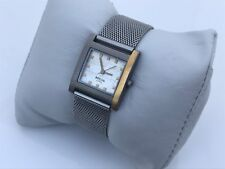 Bocca Titanium Womens Watch Mesh Band 3 Bars Japan Movt Very Unique Watch