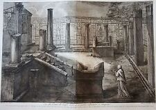PIRANESE :  Gravure dessinée par J.B. PIRANESI ,gravée par F. PIRANESI. 1805 (5)