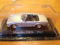 "DIE CAST ""MERCEDES 230 SL - 1963"" SCALA 1/43 RBA AUTO INDIMENTICABILI"
