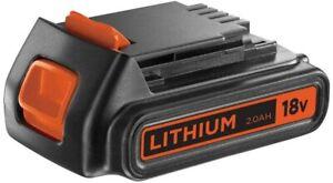 D'origine BLACK+DECKER Batterie Lithium 18V 2 Ah BL1518-XJ
