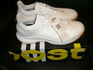 Ladies Adidas White Crazyflight X 3 trainers uk  SIZE 7.5  - RRP: £129.99  BNIB