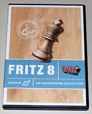 FRITZ 8 - SCHACH PROGRAMM FÜR PC - CHESS SIMULATOR - NEUWERTIG