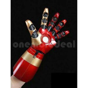 Avenger Iron Man Tony Stark Wearable Armor Left Hand Cosplay LED Sound Effect dl