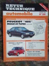 Revue Technique PEUGEOT 405 Diesel et Turbo Berline Break +  RENAULT 5 GT Turbo