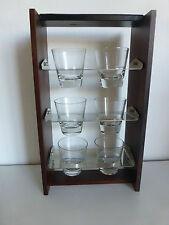 schwenkbarer Glashalter Glasständer mit Gläsern @ GRASOLI @