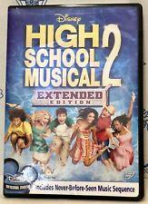New Disney High School Musical 2 DVD Extended Edition Vanessa Hudgens Zac Efron