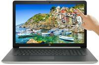 HP 17.3 TOUCHSCREEN HD AMD Ryzen 5 3500U 3.7GHz 1TB HDD 12GB RAM DVD Webcam HDMI