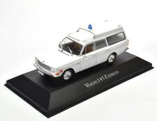 Metall Modellauto 1:43 Krankenwagen Ambulanz Volvo 145 Express Ambulance Atlas