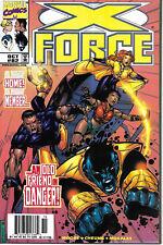 X-Force #82 Marvel 1st app Bedlam Dani Moonstar Domino Newsstand Edition VF+