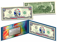 STARS & STRIPES FLAG HOLOGRAM Legal Tender US $2 Bill Currency *Limited Edition*