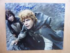 Autograph - Elijah Wood - Sean Astin - Lord Of THe Rings - 10 x 8 inches