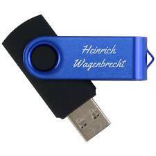 USB Stick 3.0 Pana 1, 8, 16 oder 32 GB in 10 Farben mit Text Logo Gravur