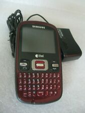 Samsung Sch-R351 Cell Phone Red (Alltel) W/Charger!