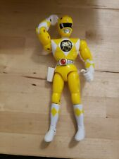 "Power Rangers Karate Choppin Yellow Ranger Trini Loose 8"" Figure Bandai 1994"