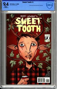 Sweet Tooth #01 - CBCS 9.4 DC Comics Vertigo Netflix - Jeff Lemire