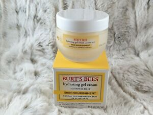 BNIB! Burt's Bees Skin Nourishment Hydrating Gel Cream with Royal Jelly 1.8 oz.