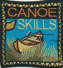 Girl Boy Cub CANOE SKILLS class training Fun Patches Crest Badges SCOUT GUIDE