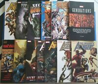 Marvel Secret Invasion TPB Lot Spiderman New Mighty Avengers Fantastic Four GNs!