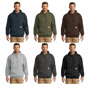 New Carhartt Men's Midweight Hooded Sweatshirt Pullover Workwear Hoodie CTK121