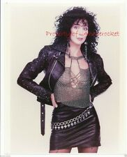 """Cher 8"""" x 10"""" Color Photo from Skin Deep Photo Shoot-1987-#186"""