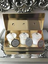 GLASSHOUSE CANDLE MINIATURE TRIO  x 3 60g - CHRISTMAS COLLECTION - LIMITED EDT.