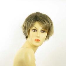 short wig for women smooth golden brown wick ref ROMANE 1bt24b PERUK