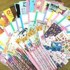 San-X Rilakkuma and Sanrio Hello Kitty 10 of Assorted Stationery Set F/S Japan