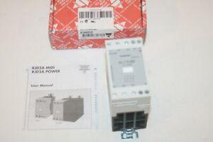 CARLO GAVAZZI RJ3A60D20 Contactor Solid State Relay 3-pole 20A (MIDI) * NEW *