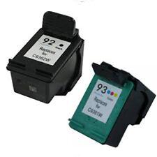 HP92 + HP93 Reman Ink Cart 200% More Ink Deskjet 5420, 5420v,5438 5440, 5440v