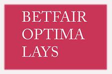 Betfair Optima Lays Racing Betting System - Make Money!