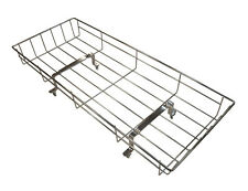 SILVER CROSS DOLL COACH BUILT PRAM TOY CHROME SHOPPING BASKET TRAY Inc bracket