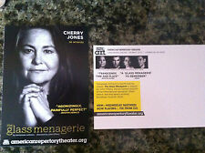 the Glass Menagerie play ad/flyer A R T Cambridge Cherry Jones Zachary Quinto 2