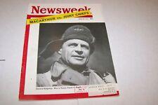 APRIL 30 1951 NEWSWEEK magazine GENERAL RIDGWAY