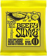 Ernie Ball Beefy Slinky 2627 Custom Gauge Electric Guitar Strings 11-54 String