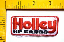Hot Rod Patch Holley HB Carbs Badge Drag Race Muscle Car Mechanic Iron On