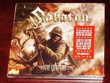Sabaton: The Last Stand Limited Edition CD DVD Set 2016 Bonus Tracks Digipak NEW
