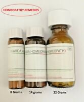 Homeopathic Remedies in 6C 30C 200C Homeopathy Remedy 8 Grams Fast dispatch