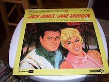 JANE MORGAN/JACK JONES-LP-NM-MCA/PHILCO/FORD-STEREO-DOUBLE STAR SERIES