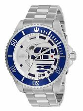 Invicta Star Wars R2-D2 Limited Automatic 24 Jewels Silver Men's Watch 26596 SD