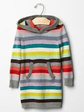 NWT New Baby Gap Girl Holiday Stripe Sweater Dress 5T