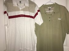 Lot of 2 Timberland Men's Short Sleeve 100% Soft Cotton Polo Shirt X Large XL