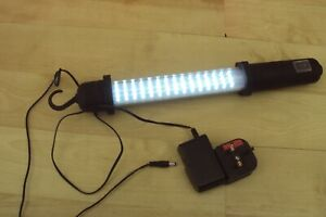 Co tech 60 LED IP 20 rechargeable workshop light or torch very bright.
