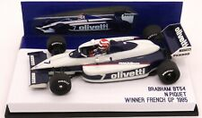 RARE BUILT MERI BRABHAM BMW BT54 N.PIQUET FRENCH GP 1985  1/43 F1